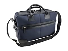ST Dupont Black Leather and Nylon Interior Bag