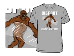 Bigfoot Caught On Tape