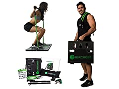 BodyBoss Home Gym 2.0 - Portable Gym + 2 Resistance Bands