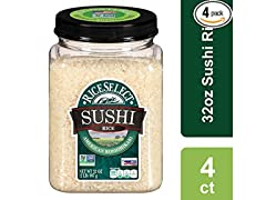 RiceSelect Sushi Rice, 32 oz (Pack of 4)