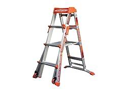 Little Giant Adjustable Step Ladder