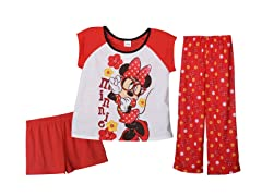 Minnie Glasses 3-Piece Set (4-10)