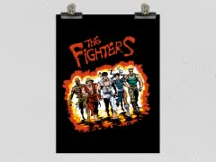 """The Fighters"" Matte Poster"