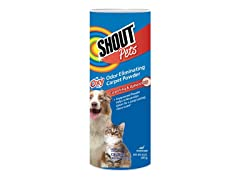 Shout Odor Eliminator Powder (Pack of 3)