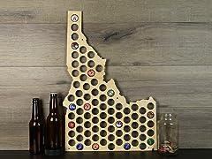 Beer Cap Map: Idaho