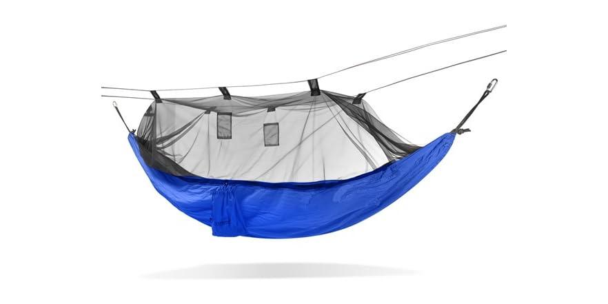 Hammock w/ Mosquito Net - Blue