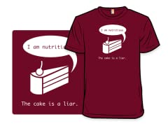 The Cake is a Liar Remix Tee