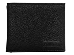 Van Heusen Bifold Wallet, Black/Grey