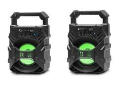 """3"""" Rechargeable Speaker, 1 or 2 Pack"""