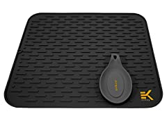 Eekay Wares Silicone Drying Mat- Pick Color, Size