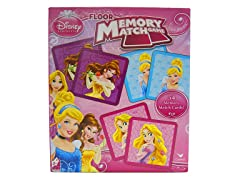 Disney Princess Floor Memory Match Game