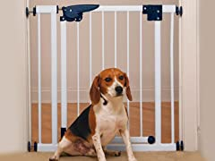 Pet Studio Pressure Mounted Gate - White