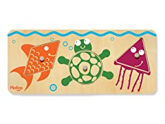P'Kolino 3-Piece Sea Life Puzzle