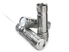 LED Flashlight Set, 3-Piece