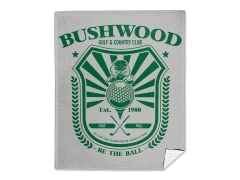 Bushwood Country Club Mink Fleece Blanket