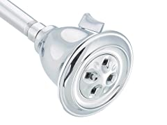 2-Spray Shower Head, Chrome