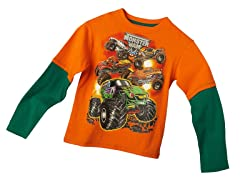 Monster Jam Long Sleeve Tee - Orange (7)