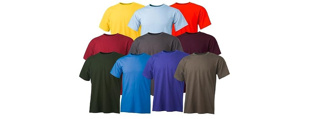 Keya 10-Pack Men's Crew Neck T-Shirt