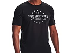 UA Men's Freedom US Of A T-Shirt