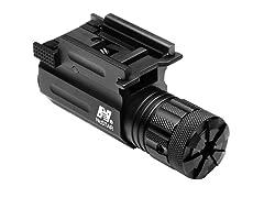 NCStar Green Laser w/ QR Weaver Mount