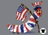The Very Patriotic Caterpillar