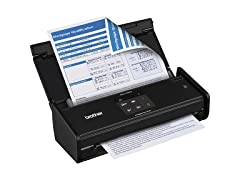 Brother Compact Color Desktop Scanner - Wireless
