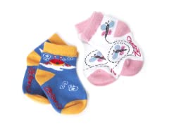 Zutano 6pk Infant/Toddler Socks
