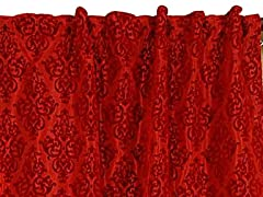 "Pari 42"" x 96"" Burgundy-Set of 2"