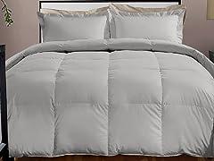 800TC Down Alternative Comforter-Platinum-3 Sizes