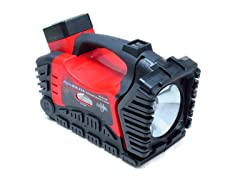 Rechargeable Air Compressor & Spotlight