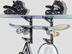Delta Multi Sport Wall Rack, 2 Pairs