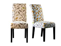 Mackie Birch Leaves Set of 2 Chairs