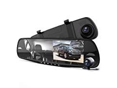 Pyle Dual Lens Mirror Car Camera