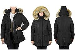 Women's Heavyweight Long Parka Coat