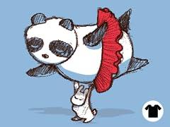 Panda loves ballet