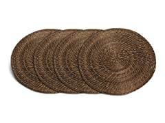 "Core Bamboo 15"" Placemat-Mocha Set of 4"