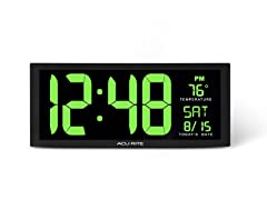 AcuRite 75155M 14.5-inch LED Clock