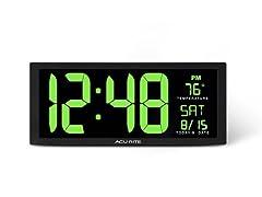 AcuRite 75155M 14.5-inch LED Clock