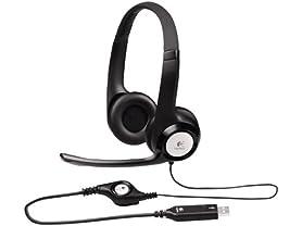 Logitech USB Headset w/Noise Cancelling Mic