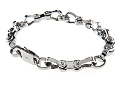 Stainless Steel Bicycle Link Bracelet