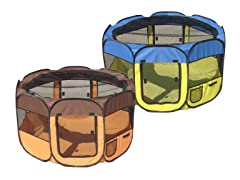 Pet Playpen - 4 Colors, 2 Sizes
