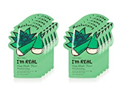 I'm Real Aloe Mask Sheet - 10 Pack