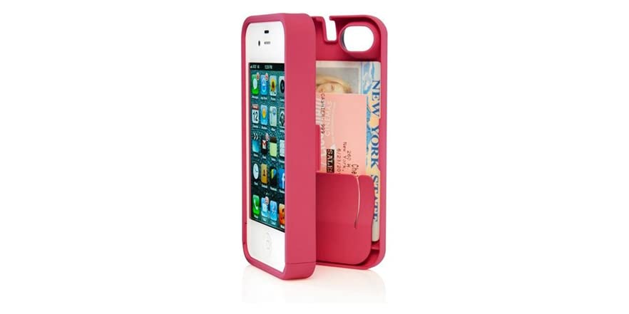 iPhone 4/4S Case w/Hinged Back - Pink - Electronics.Woot