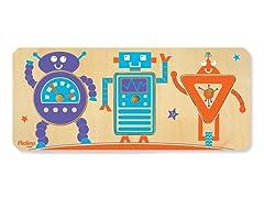 P'Kolino 3-Piece Robot Puzzle