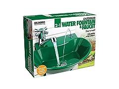 Jobar International 2 in 1 Water Fountain Faucet