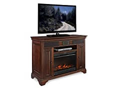 "Granville 48"" Audio TV Stand & Fireplace"