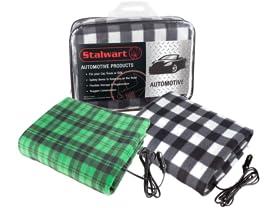 Stalwart 12V Electric Heated Car Blanket