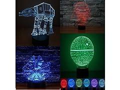 Star Wars 3D Illusion Decorative Lights