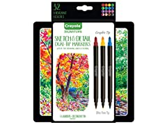 Crayola Signature Sketch & Crayoligraphy Set