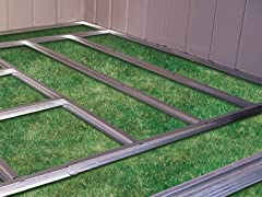 Arrow Shed Floor Frame Kit - Sentry Series